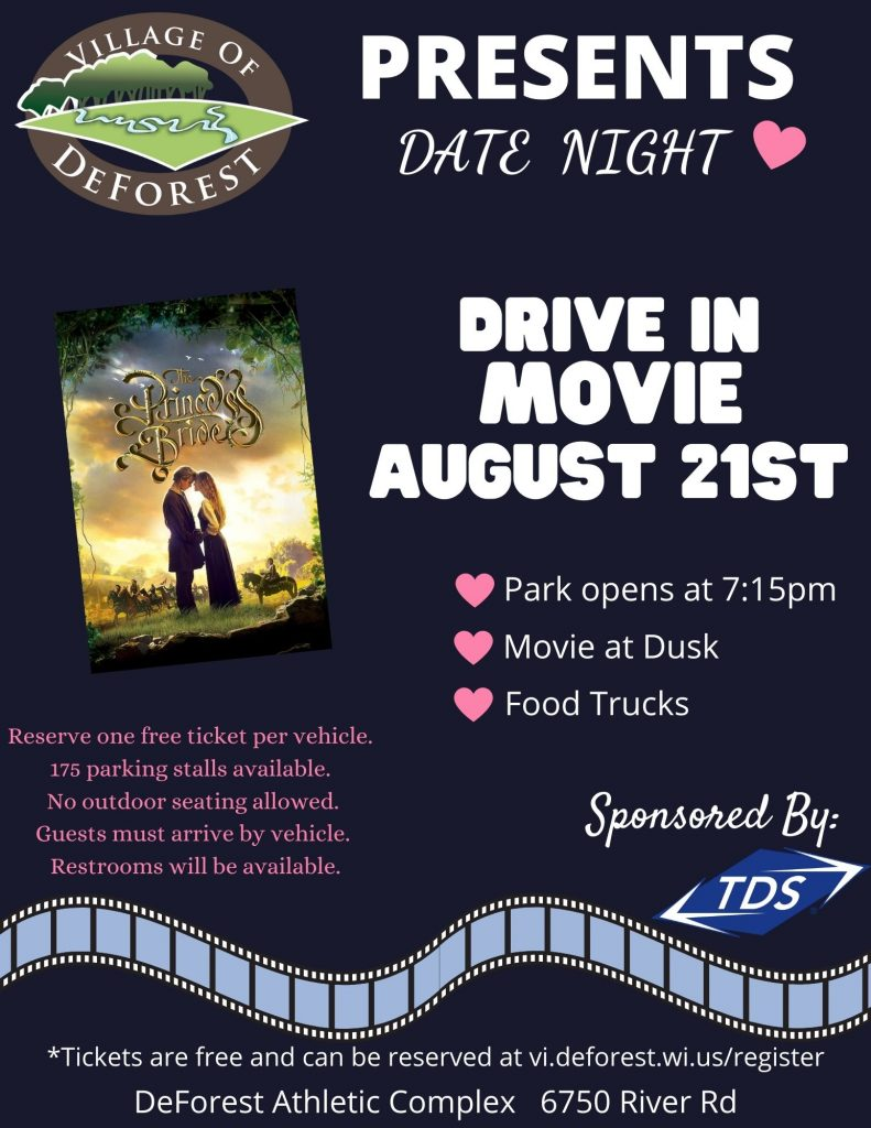 Date Night – Drive In Movie Night